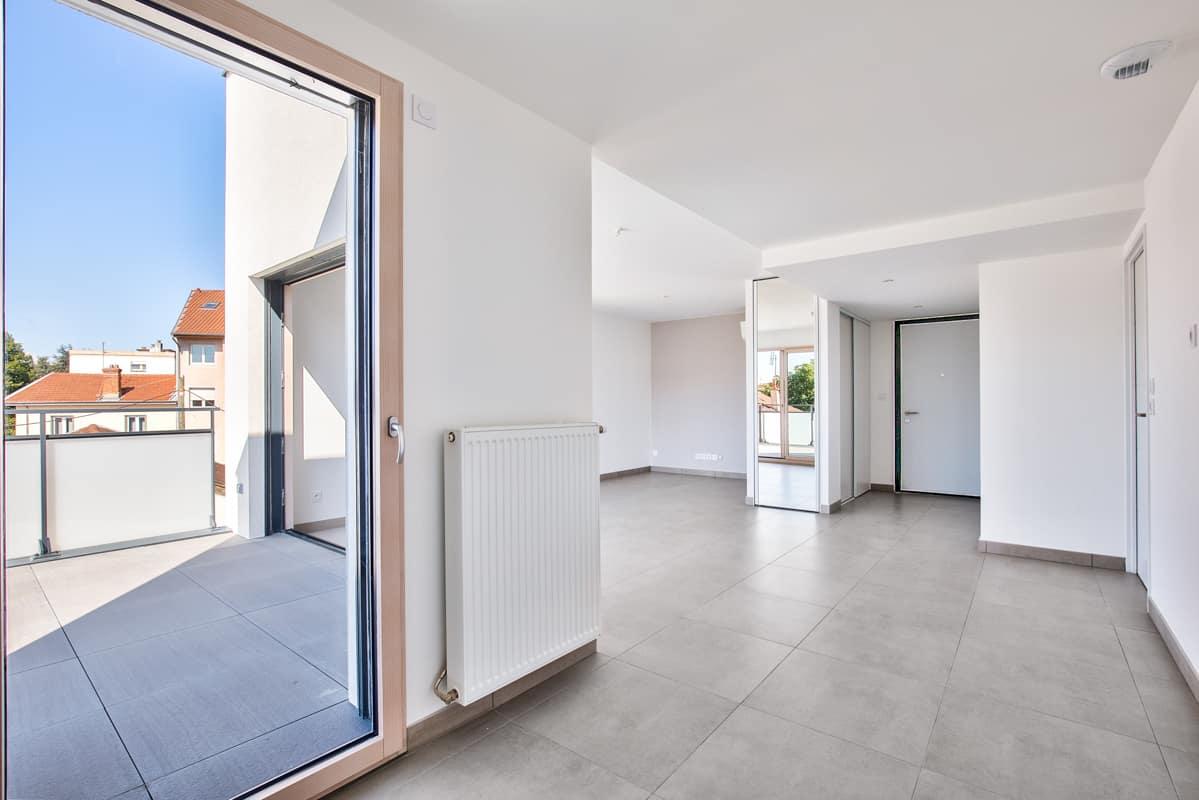 Katrimmo - programme neuf Amarantes Montchat - intérieur appartement neuf