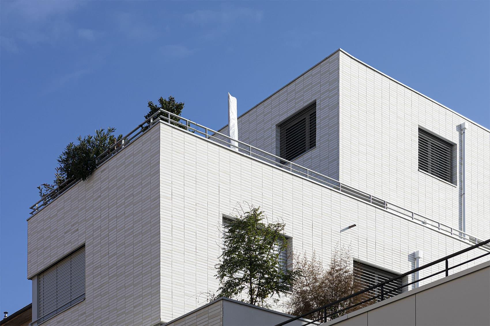 Katrimmo - programme neuf 7 à Montchat - détail architecture attique