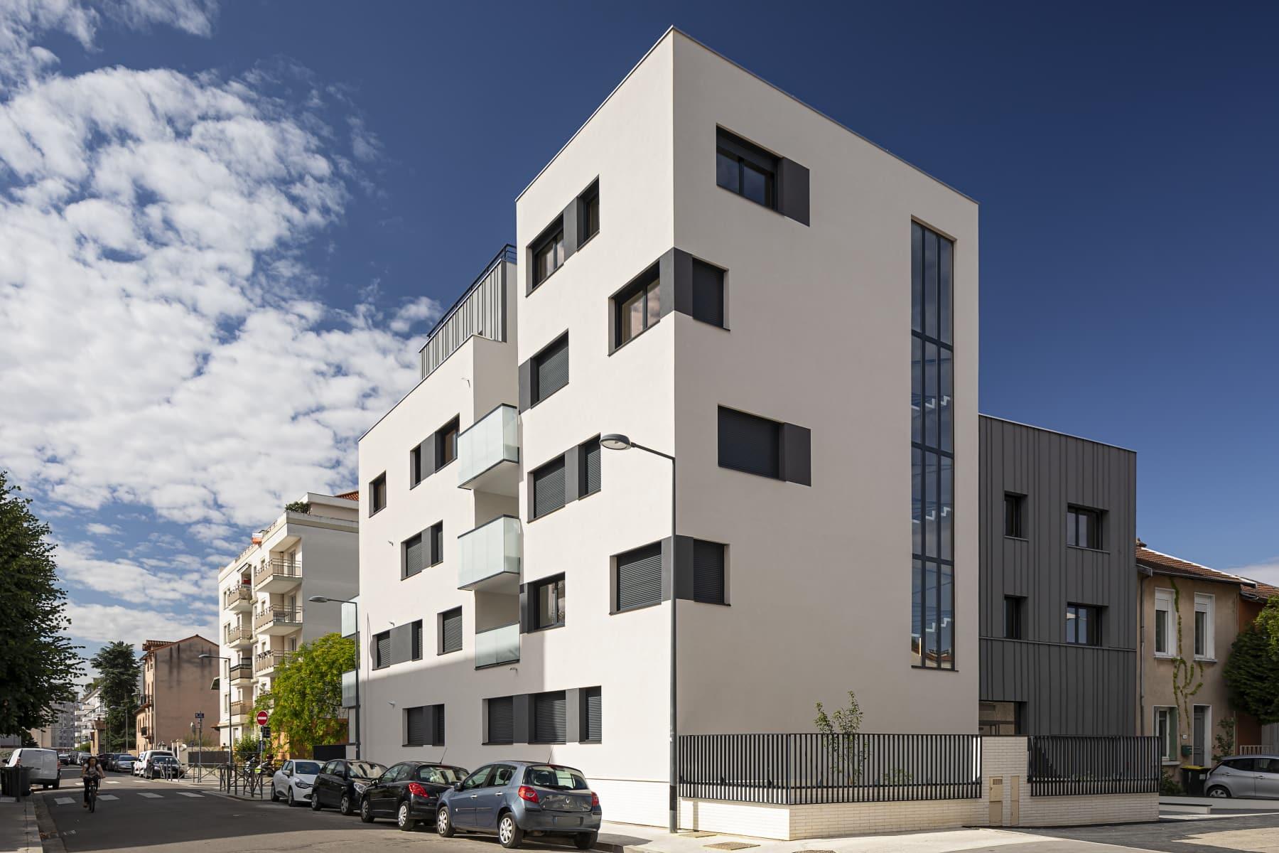 Villeurbanne immobilier Pinel CIEL Villeurbanne - depuis impasse de Fontanières